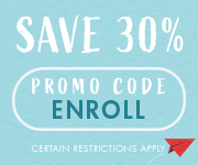 Save with promo code ENROLL