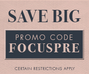 Save with promo code FOCUSPRE